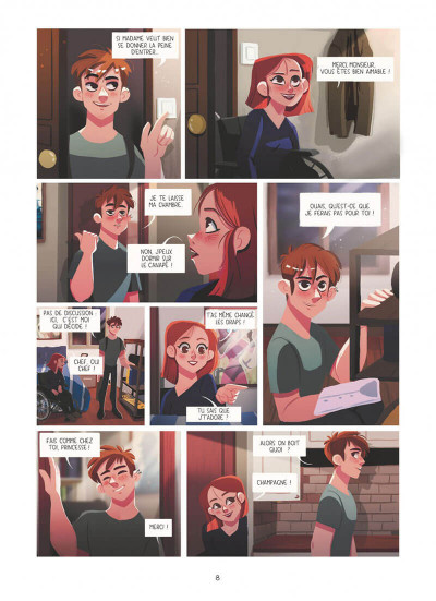Page 8 Dans les yeux de Lya tome 1