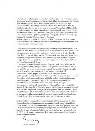 Page 3 La véritable histoire vraie tome 6 - Attila
