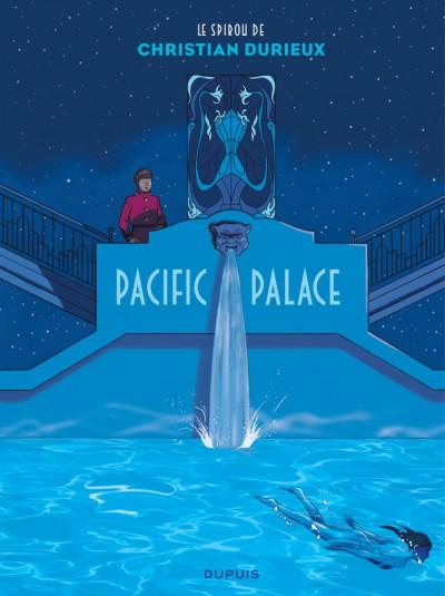 Couverture Spirou - Pacific palace + ex-libris offert