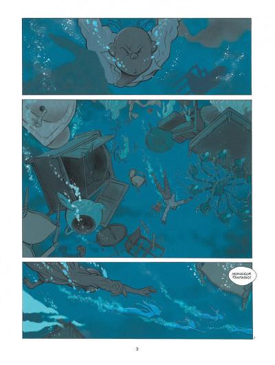 Page 3 Spirou - Pacific palace + ex-libris offert
