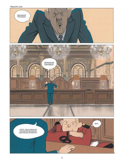 Page 4 Spirou - Pacific palace + ex-libris offert