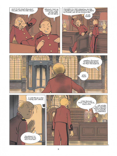 Page 6 Spirou - Pacific palace