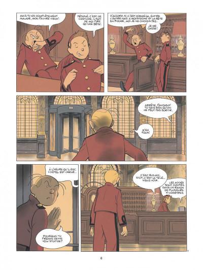 Page 6 Spirou - Pacific palace + ex-libris offert
