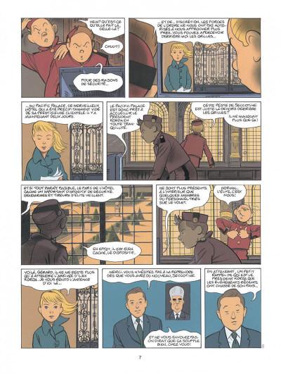 Page 7 Spirou - Pacific palace + ex-libris offert