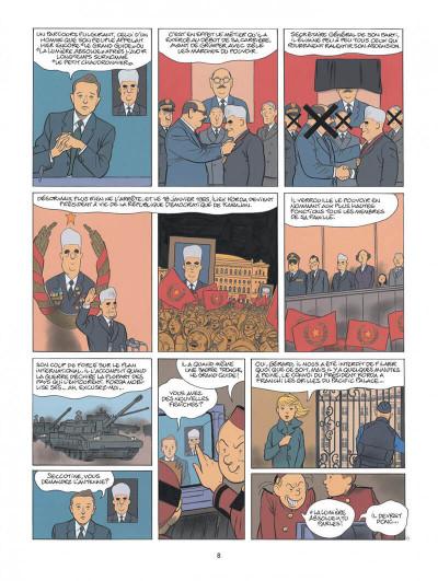 Page 8 Spirou - Pacific palace + ex-libris offert