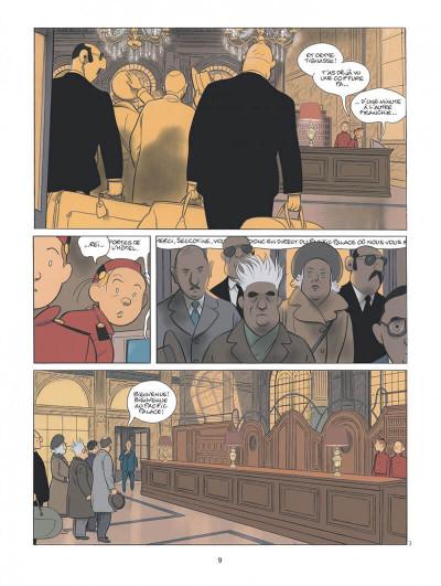 Page 9 Spirou - Pacific palace + ex-libris offert