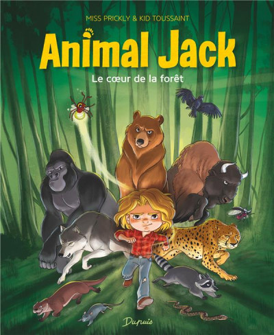 Couverture Animal jack tome 1