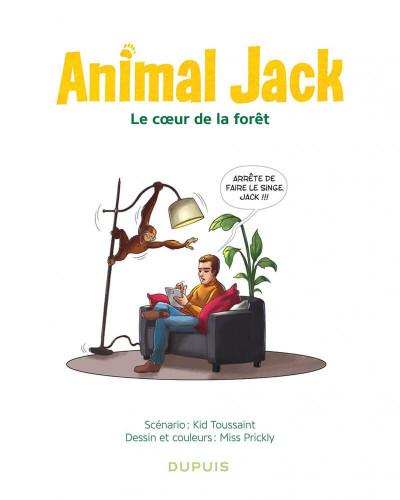 Page 3 Animal jack tome 1