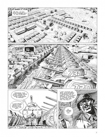 Page 7 Cinq branches de coton noir - grand format n&b
