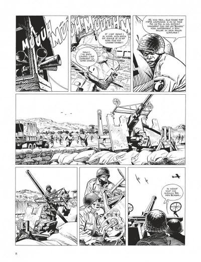 Page 8 Cinq branches de coton noir - grand format n&b