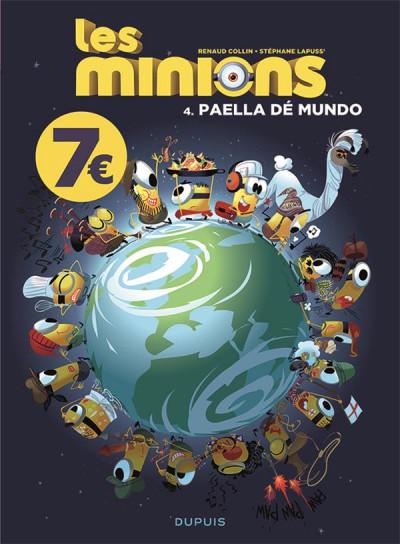 Couverture Les Minions tome 4
