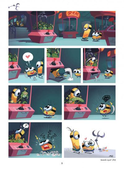 Page 3 Les Minions tome 4