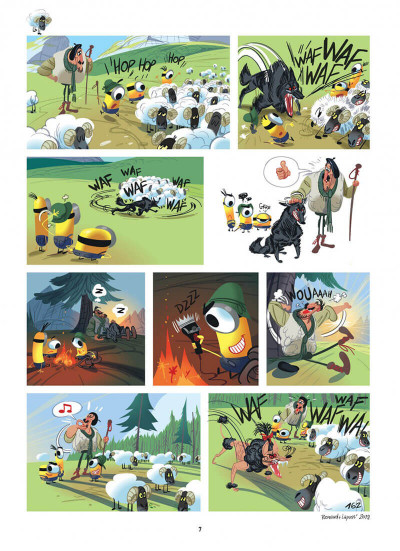 Page 7 Les Minions tome 4
