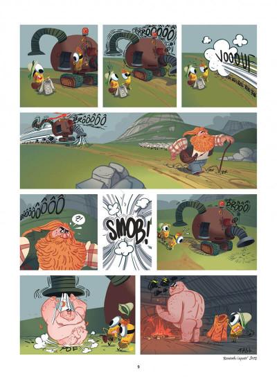 Page 9 Les Minions tome 4