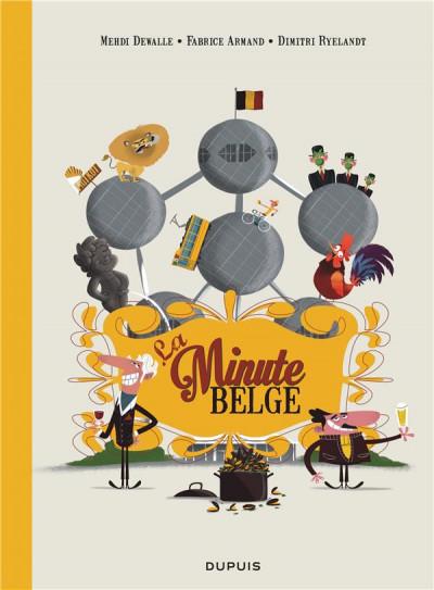 Couverture La minute Belge tome 1