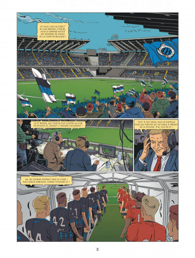 Page 3 F.C brugge tome 1