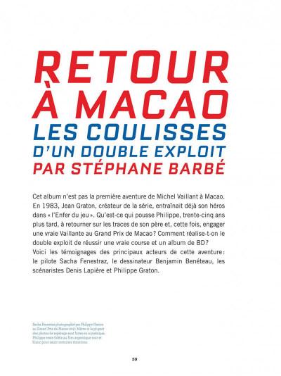 Page 7 Michel Vaillant - nouvelle saison (éditions spéciale) tome 7