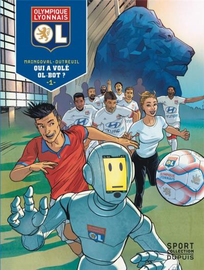 Couverture Olympique Lyonnais tome 1