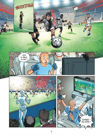 Page 5 Olympique Lyonnais tome 1