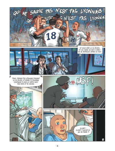 Page 6 Olympique Lyonnais tome 1