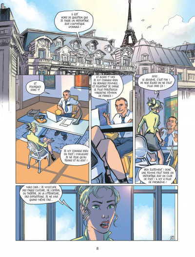 Page 8 Olympique Lyonnais tome 1