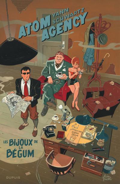Couverture Atom agency tome 1 - édition spéciale