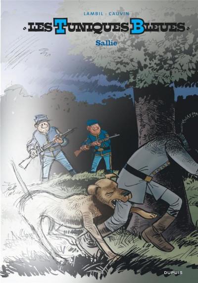 Couverture Les tuniques bleues - grand format n&b tome 62 - Sallie