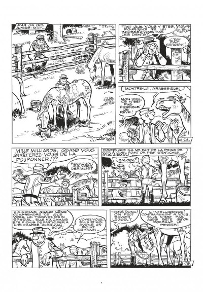 Page 9 Les tuniques bleues - grand format n&b tome 62 - Sallie