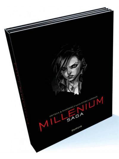Couverture Millénium saga - coffret tomes 1 à 3