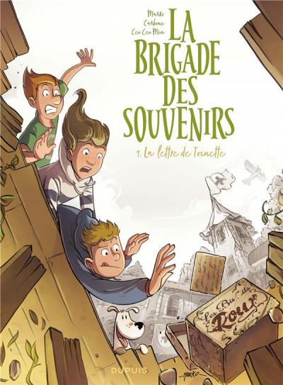Couverture La brigade des souvenirs tome 1