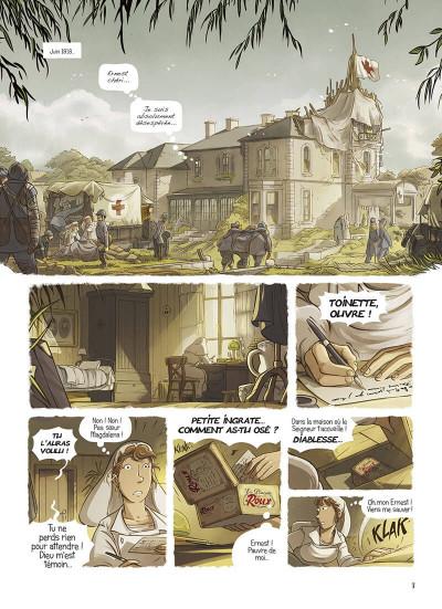 Page 3 La brigade des souvenirs tome 1