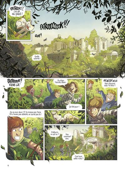 Page 4 La brigade des souvenirs tome 1