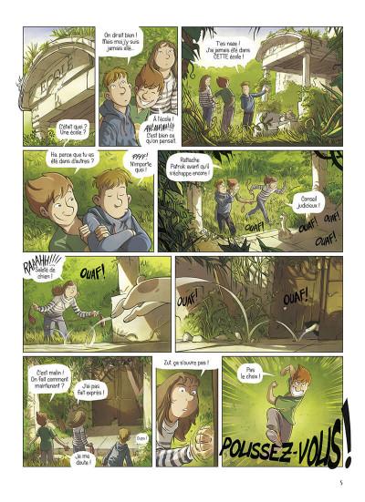 Page 5 La brigade des souvenirs tome 1