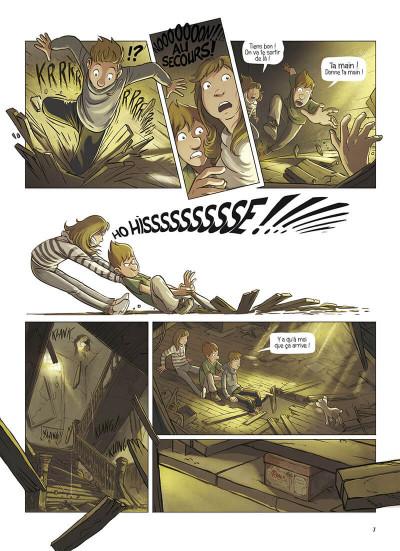 Page 7 La brigade des souvenirs tome 1