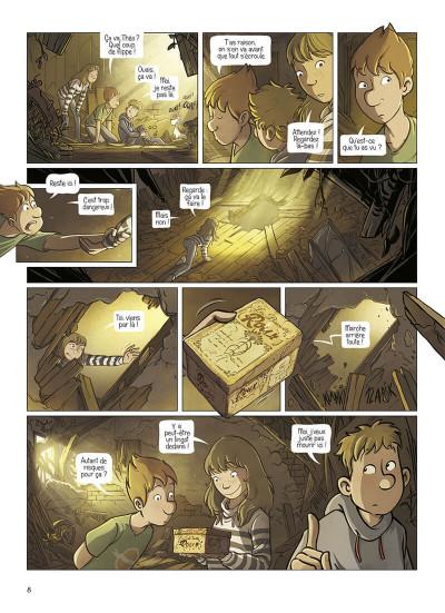 Page 8 La brigade des souvenirs tome 1