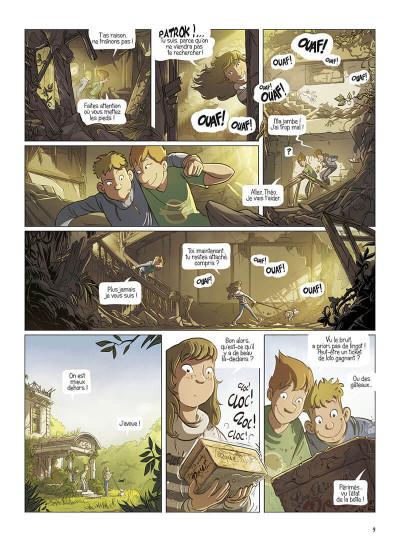 Page 9 La brigade des souvenirs tome 1