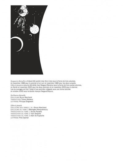 Page 4 La guerre éternelle - Libre à jamais - intégrale