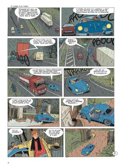 Page 4 Jérôme K. Jérôme Bloche tome 27