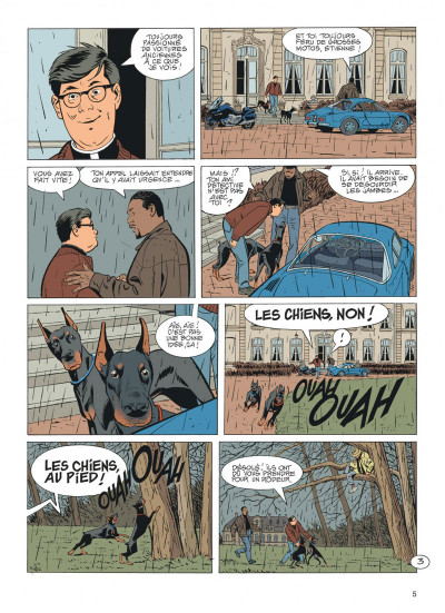 Page 5 Jérôme K. Jérôme Bloche tome 27