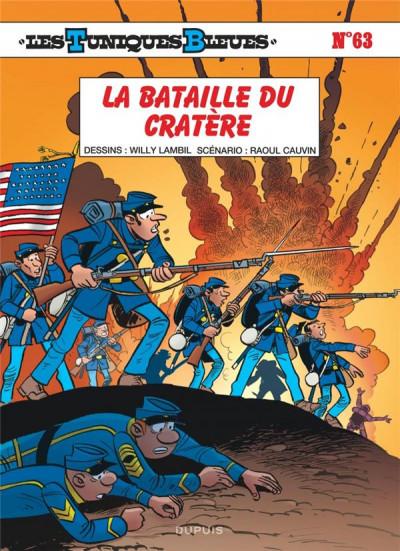 Couverture Les tuniques bleues tome 63