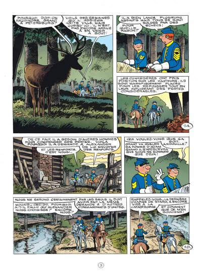 Page 3 Les tuniques bleues tome 63