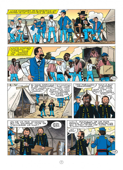 Page 7 Les tuniques bleues tome 63