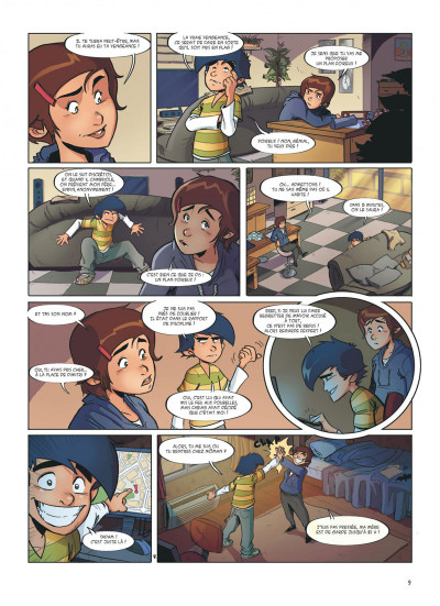 Page 9 Les zindics anonymes tome 1