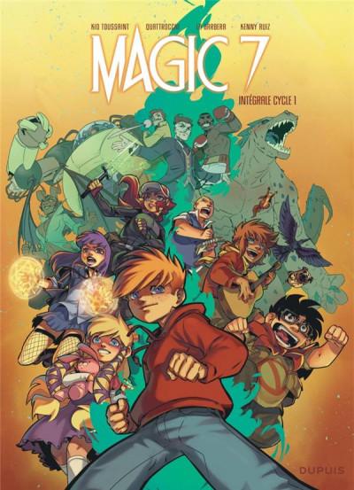 Couverture Magic 7 - intégrale du cycle 1