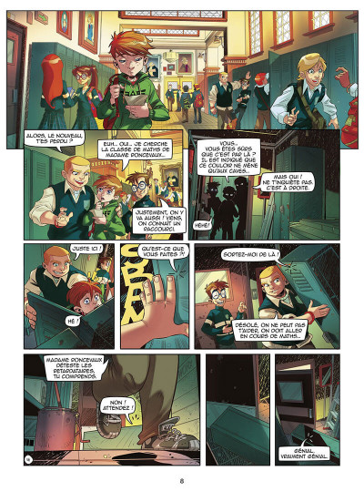 Page 9 Magic 7 - intégrale du cycle 1