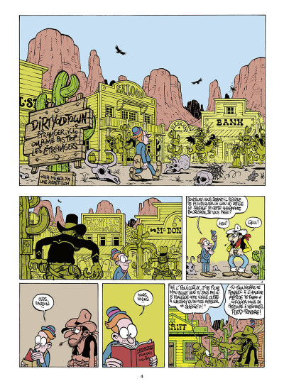 Page 5 Walter Appleduck tome 1 - stagiaire cow-boy