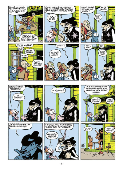 Page 6 Walter Appleduck tome 1 - stagiaire cow-boy