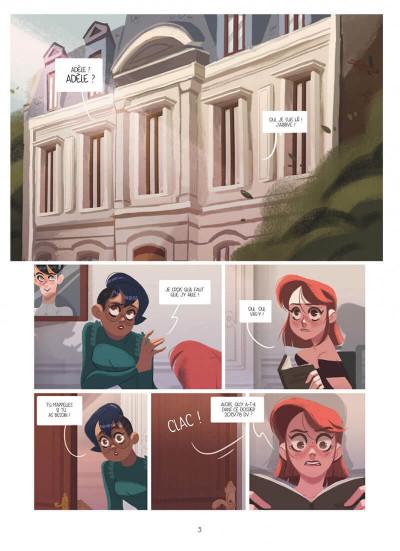 Page 3 Dans les yeux de Lya tome 2