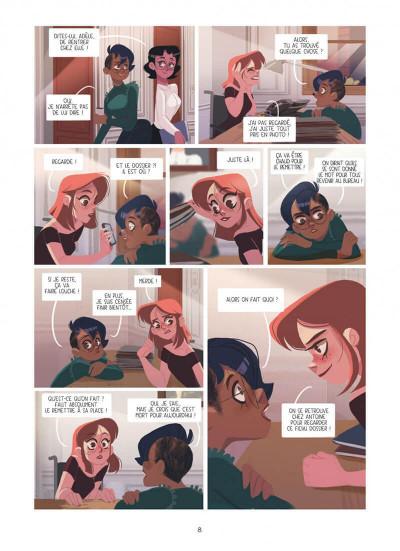 Page 8 Dans les yeux de Lya tome 2