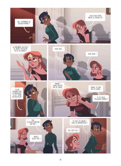 Page 9 Dans les yeux de Lya tome 2